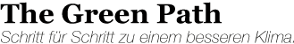 green Path Logo
